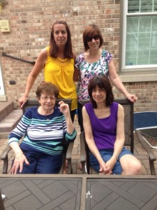 day 33: enjoying Mother's Day with these lovely ladies